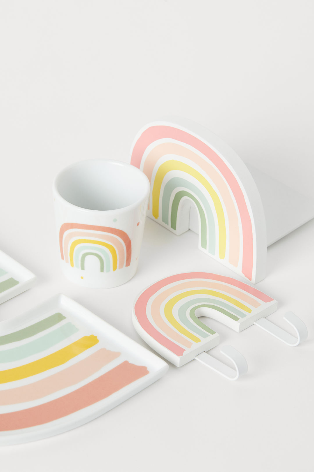 Rainbow merchandise from H&M
