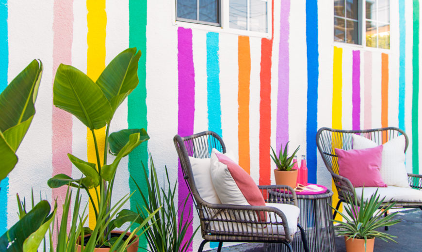 Design Trend: A Rainbow of Color