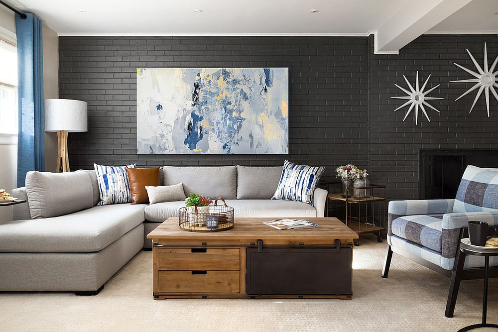 Remodeled basement can act as a lovely second living room or even family room