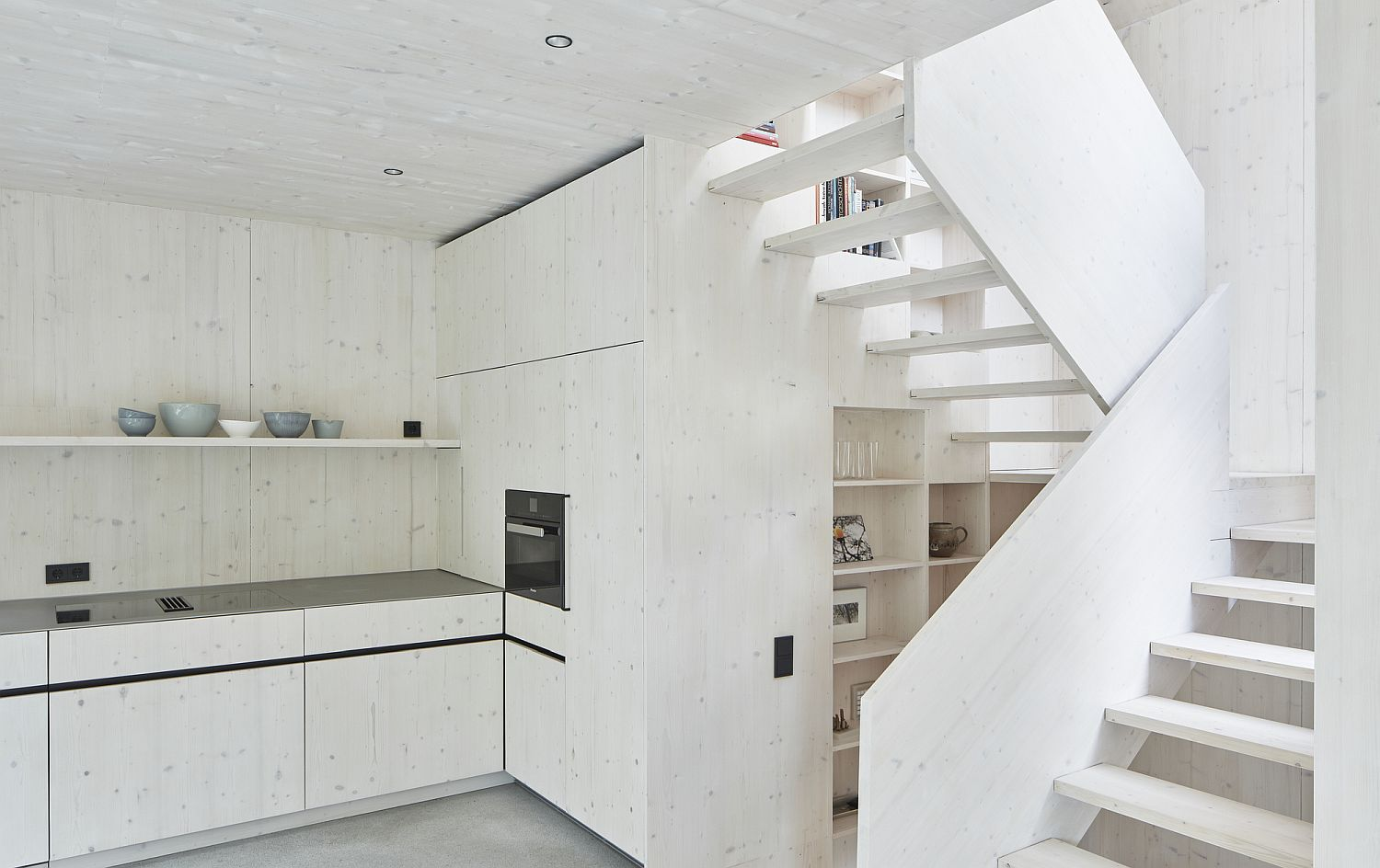 Scandinavian minimalism takes over inside the contemporary homes