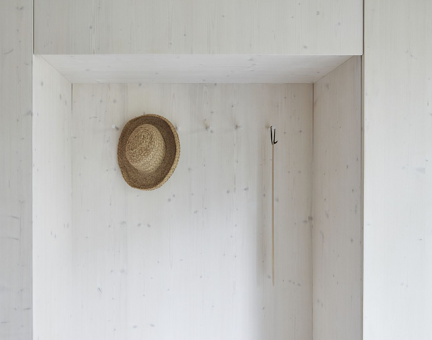 Simple and minimal entry room deisgn idea