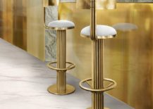 Sleek-and-stunning-high-end-bar-stools-in-gold-217x155