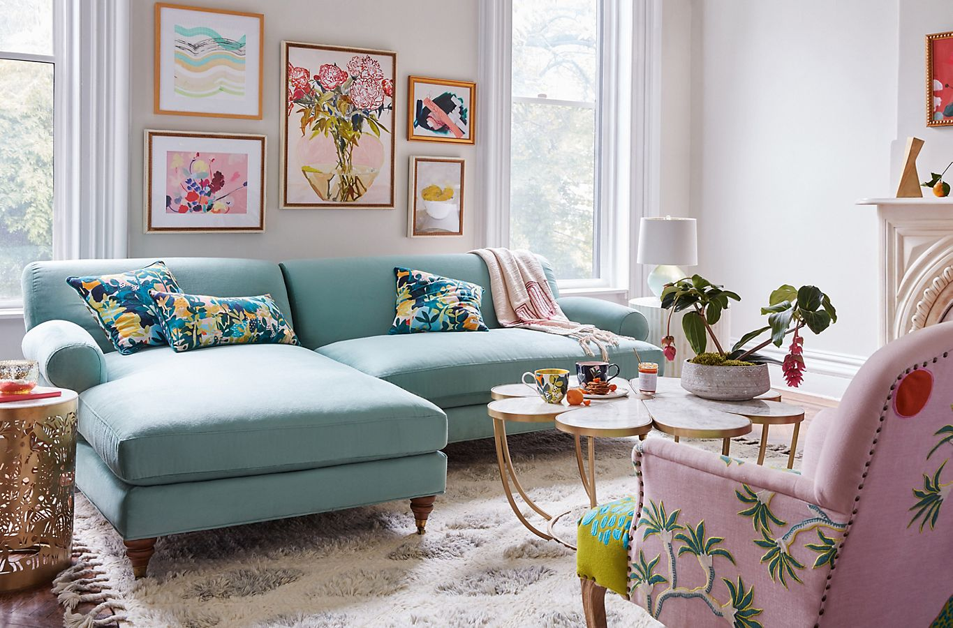 Keep Your Eye on These Spring Decor Trends