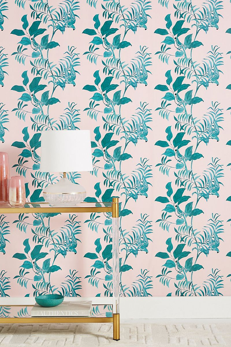 Wallpaper from Paule Marrot and Anthropologie
