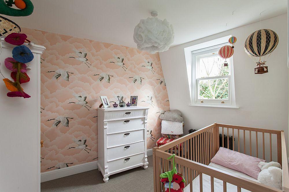 20 Nursery Wallpaper Ideas That Add Vivacious Personality To