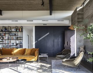 Beautiful House Next to Fields: Open, Inviting and Modern-Industrial Charm