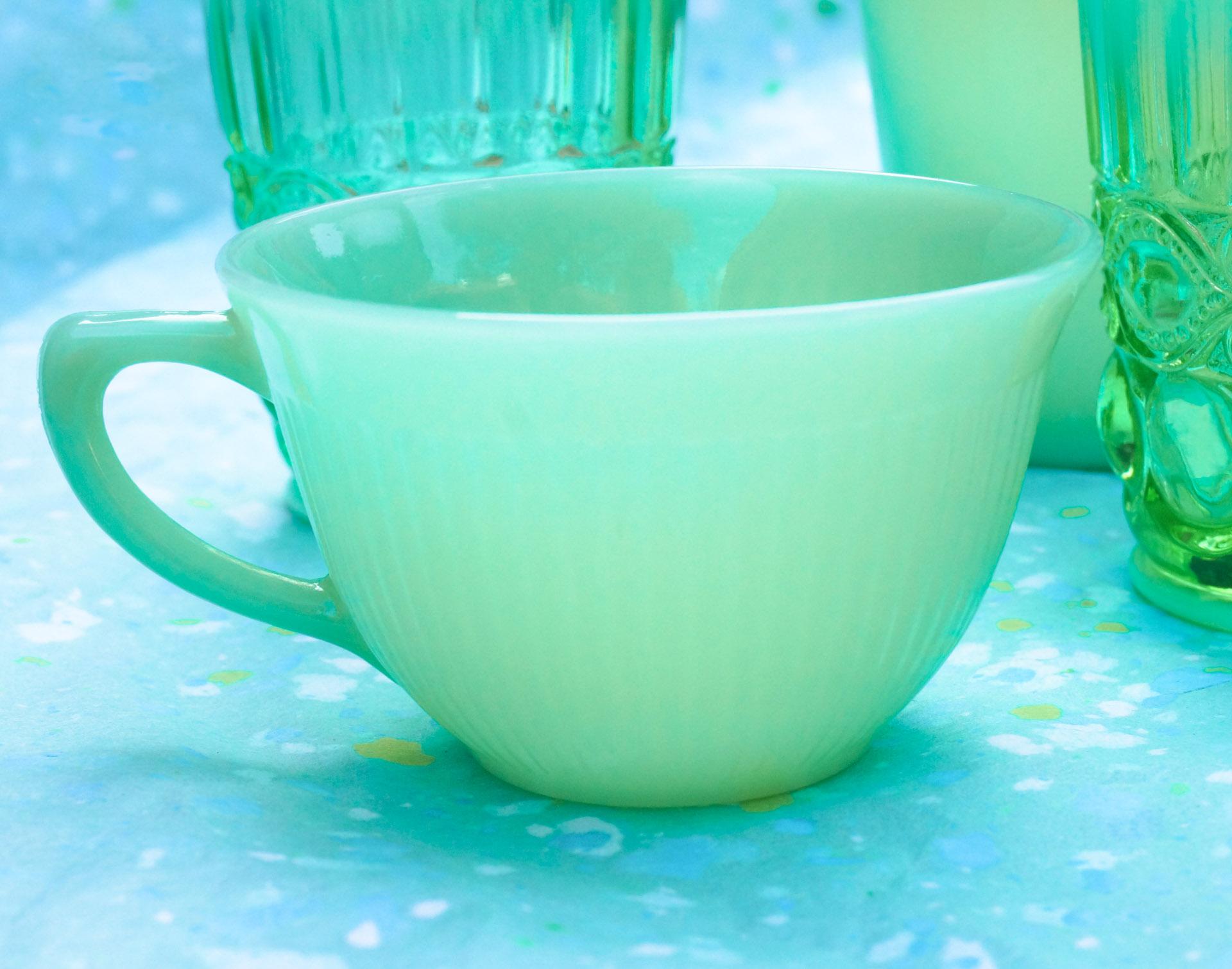 A Jadeite teacup