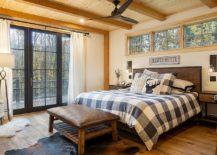 Bedding-brings-pattern-to-the-bedroom-that-accentuates-its-rustic-appeal-217x155