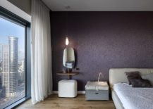 Contemporary-bedroom-in-white-and-purple-is-an-opulent-showstopper-217x155