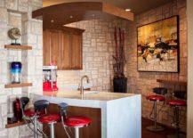 Corner-home-bar-idea-with-modern-Mediterranean-style-that-feels-casual-217x155