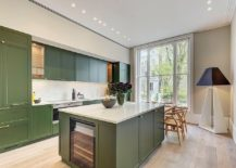 Modern Color Splash: Gorgeously Green Kitchen Cabinets That Usher In ...
