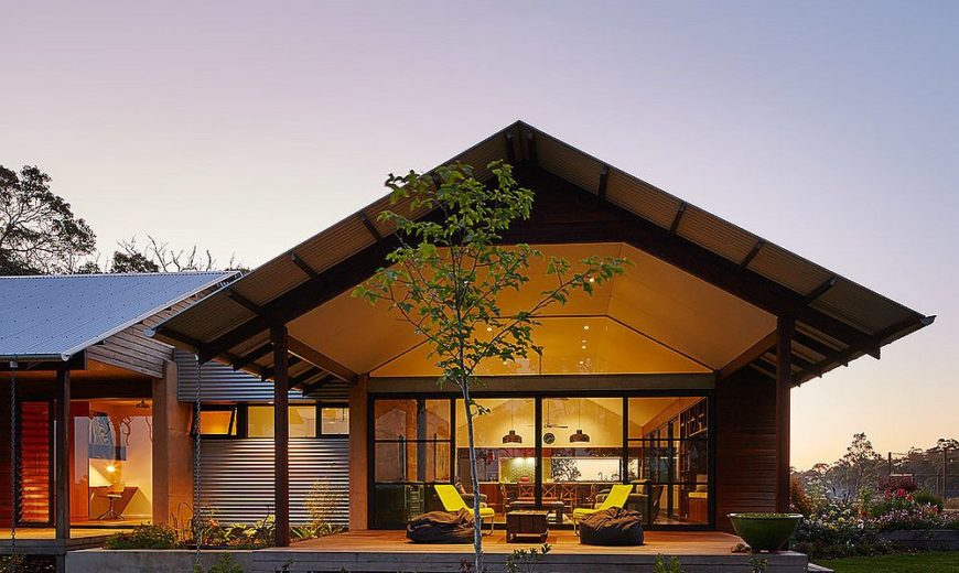Farm House: Clean Energy and Classic Design Bring Alive this Lovely Aussie Home