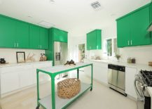 Green-island-complements-the-use-of-cabinets-in-the-same-hue-in-the-kitchen-217x155