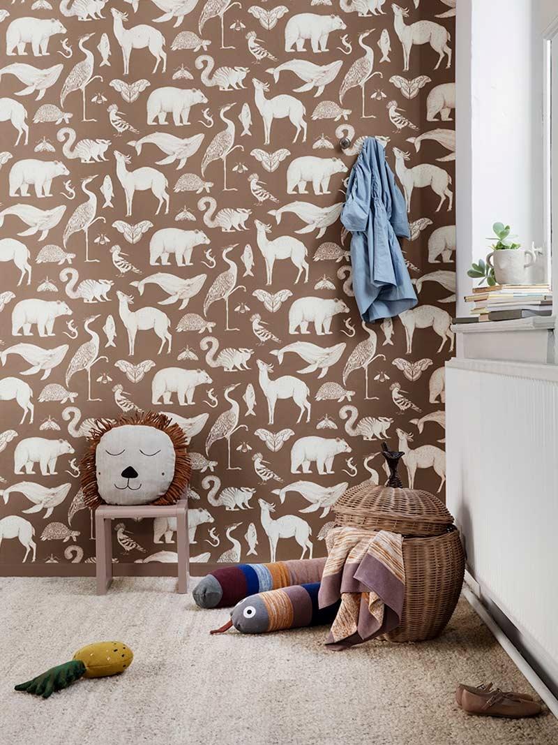 Katie Scott animal wallpaper