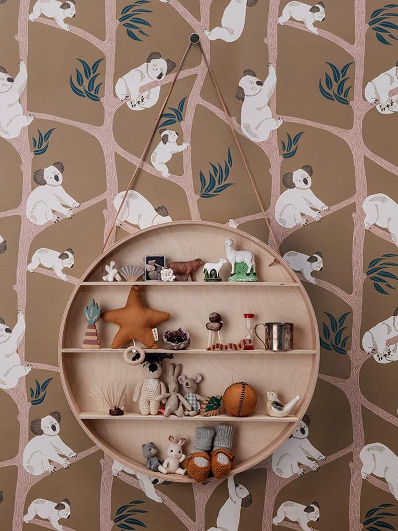 Koala wallpaper from ferm LIVING