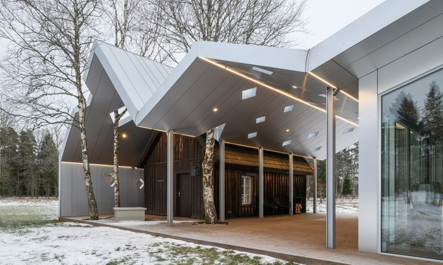 Old and New Share Common Space at this Gorgeous Spa Complex in Estonia
