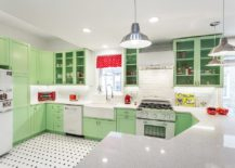 Pastel-green-and-white-kitchen-with-a-traditional-chic-style-217x155