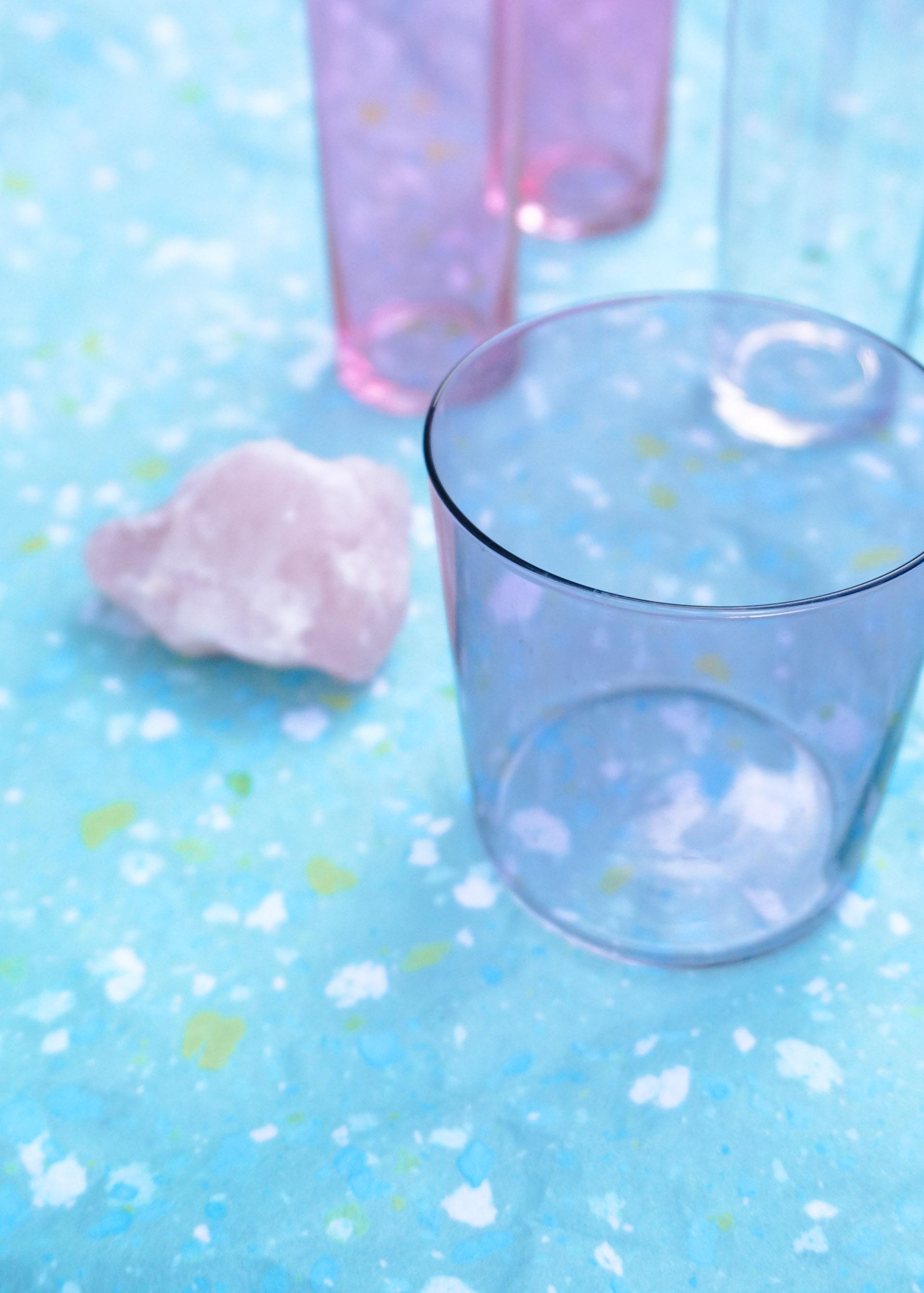 Purple glassware from CB2