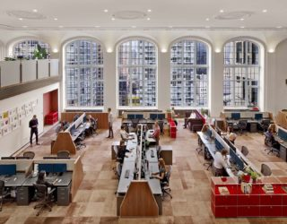 Stunning Alteration of Executive Suite in Manhattan into an Awesome Workplace!