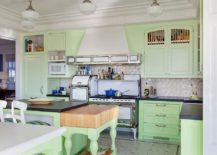 Smart-beach-style-kitchen-in-pastel-green-and-white-217x155