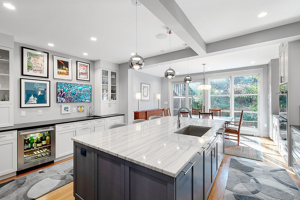 Eye Catching Trends 25 Gorgeous Kitchens With Gallery Walls That Charm