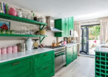 Stunning-eclectic-kitchen-in-white-and-green-with-cabinets-that-steal-the-spotlight-217x155