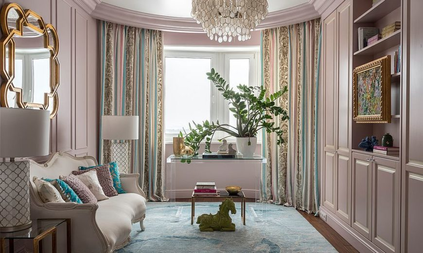 A Color Surprise: Beautiful Pink Living Room Ideas that Bring Cheer and Freshness