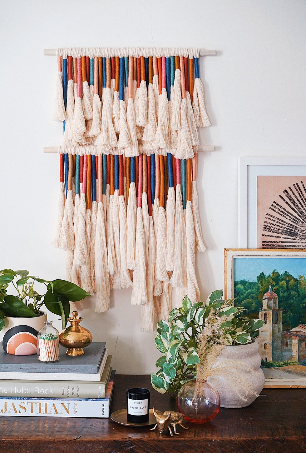 Tassel wall hanging from Honestly WTF