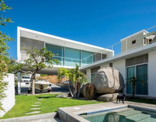 Working with the Landscape: Contemporary Mexican Home with Multi-Level Design