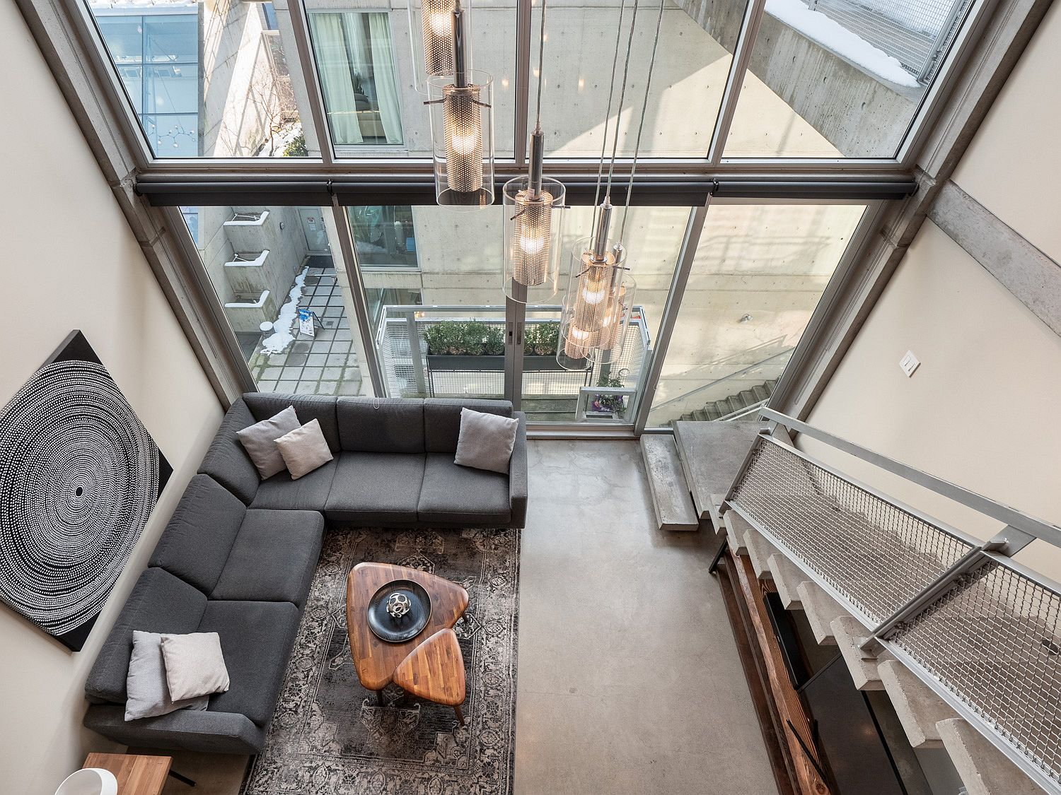 Dream Contemporary Loft Sits Snugly Inside Vancouver's Iconic Waterfall Building