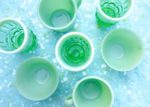 Vintage-and-new-green-glassware-217x155