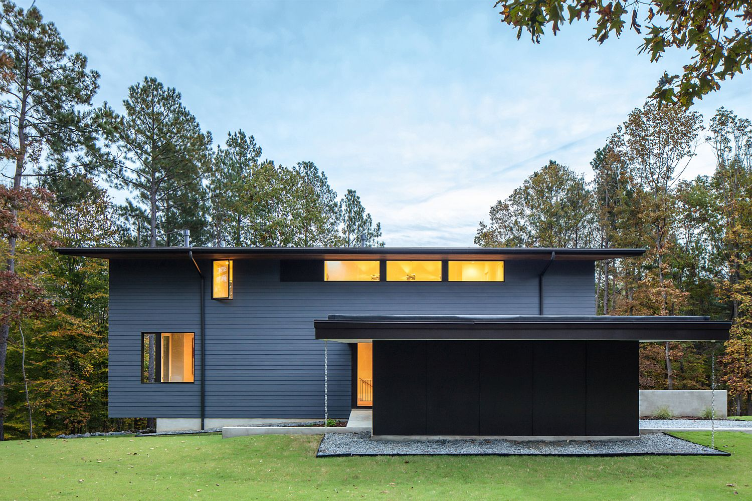 Contemporary Merkel Cooper Residence in Troutman, United States