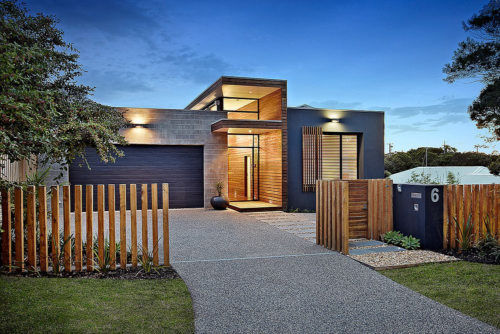 Contemporary-exterior-uses-navy-blue-in-a-smart-modern-fashion