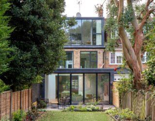Contemporary Multi-Level Rear Extension in London Creates an Open, Bright Interior