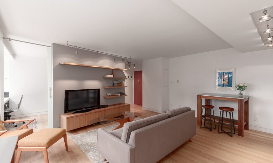 Space-Savvy and Sensible Modern Revamp of Aged Apartment in Hycroft Towers