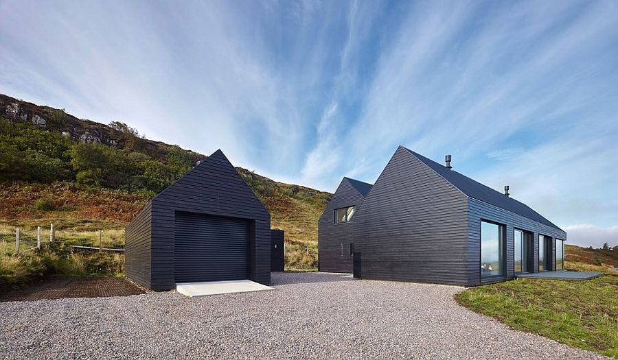 Dark-gray-exterior-that-looks-close-to-black-gives-the-Isle-of-Skye-homes-a-smart-modern-look