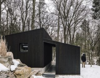 Efficient Wooden Pavilion in New York Cuts Down on Maintenance and Wastage