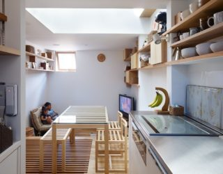 House in Nada: Ultra-Tiny Japanese Home with Multi-Level Living