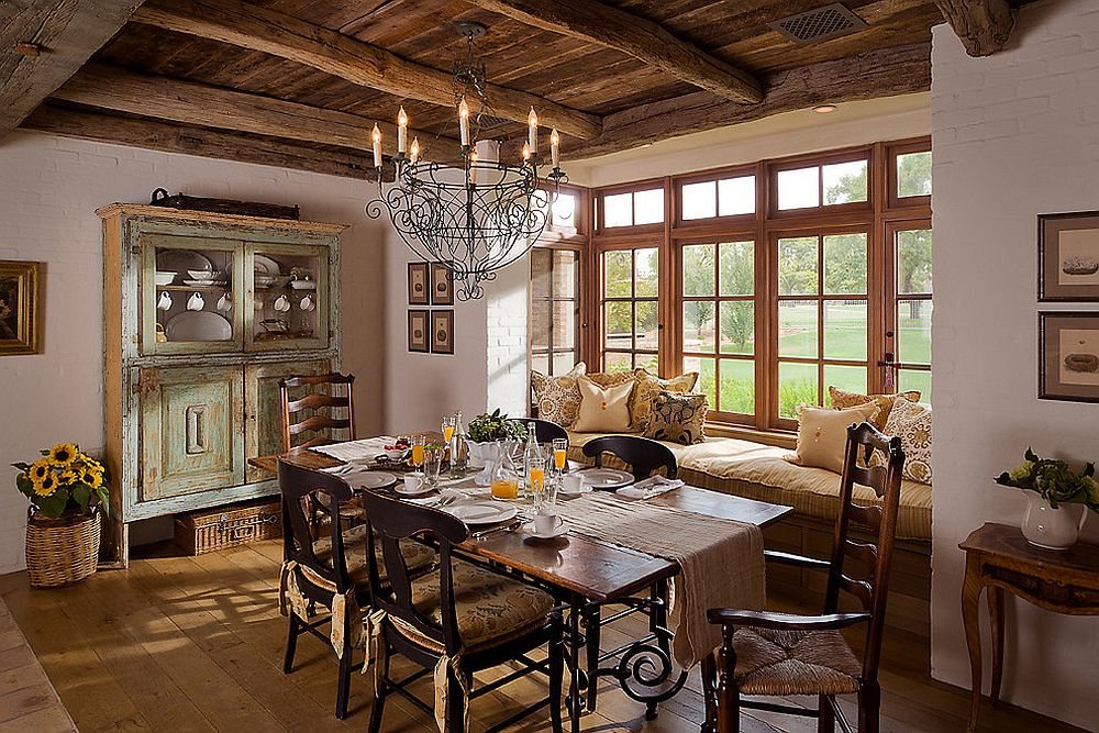 Finding-the-right-balance-between-rustic-and-modern-elements-in-the-dining-room