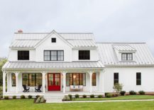 Gorgeous-all-white-exterior-of-the-farmhouse-residence-with-a-touch-of-gray-217x155