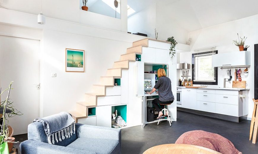 20 Exceptional Ways to Make Use of Space Underneath the Stairway