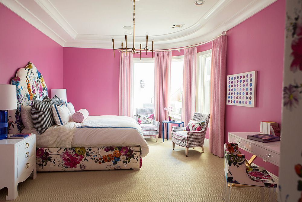 It is bed frame that brings floral panache to the bedroom with ease