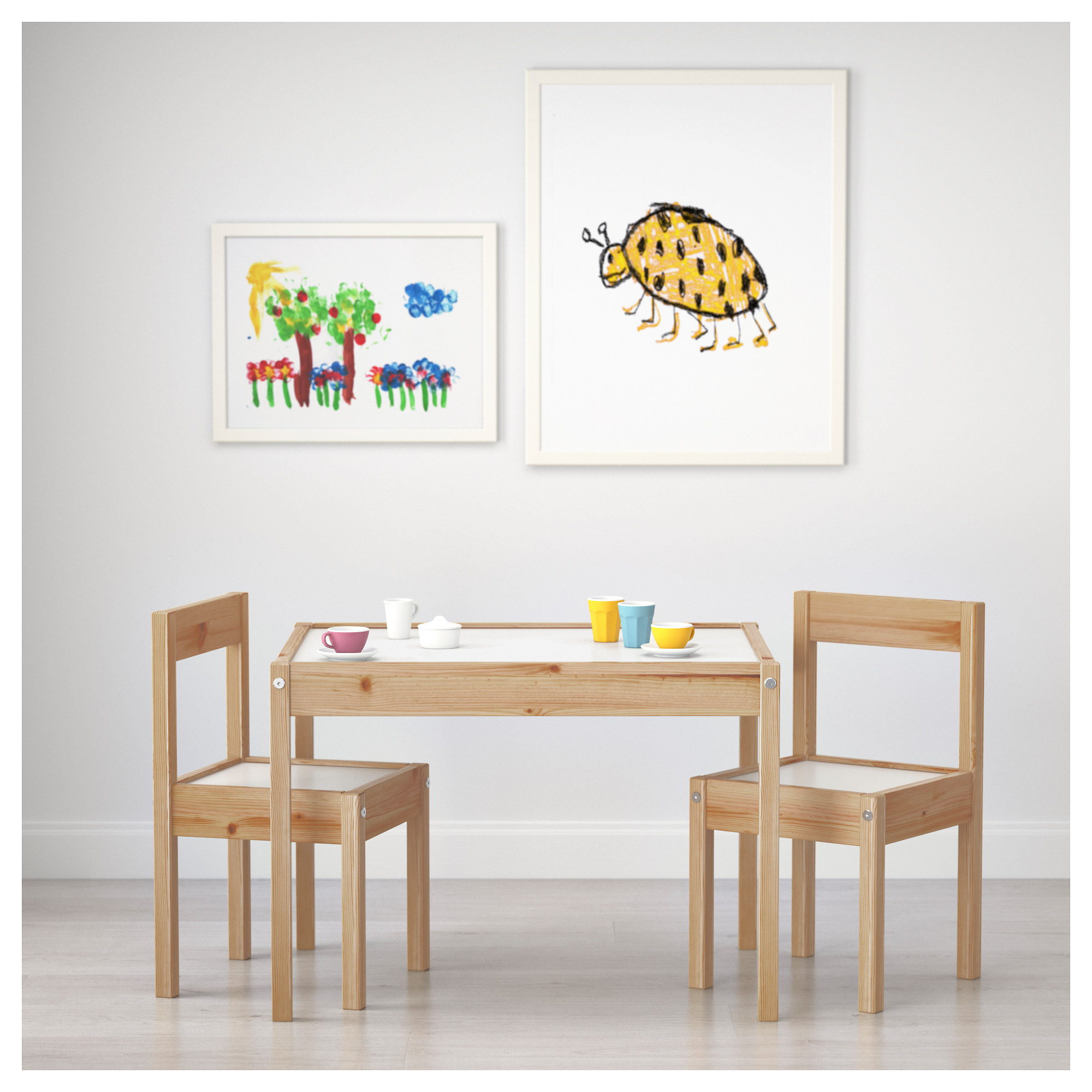 LATT table and chairs from IKEA