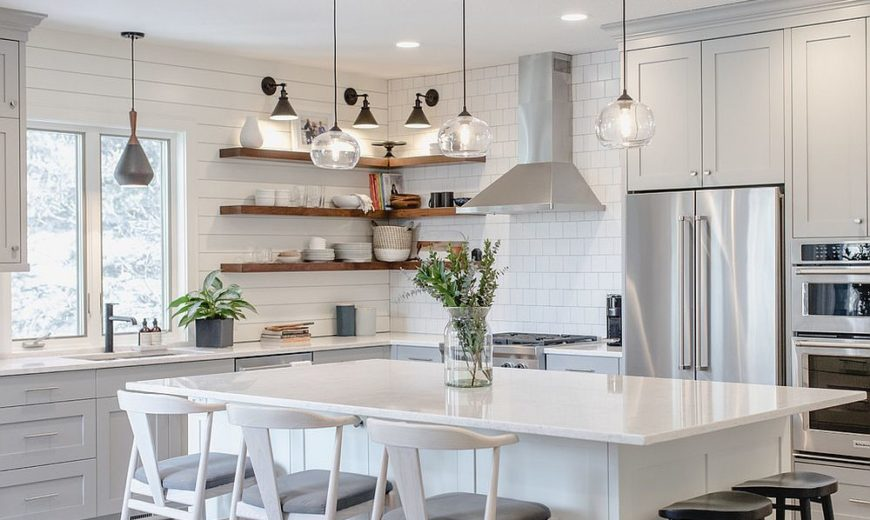 25 Best White Kitchens for Stylish Space-Savvy Goodness