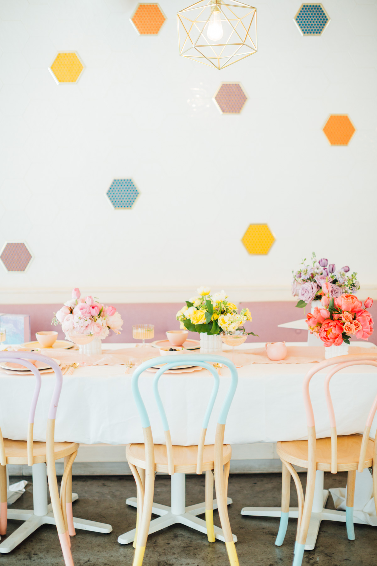 Pastel Easter idea from Sugar & Cloth