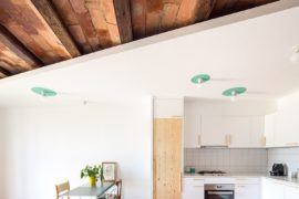 Revamped Small Barcelona Apartment Combines Multiple Styles and Finishes