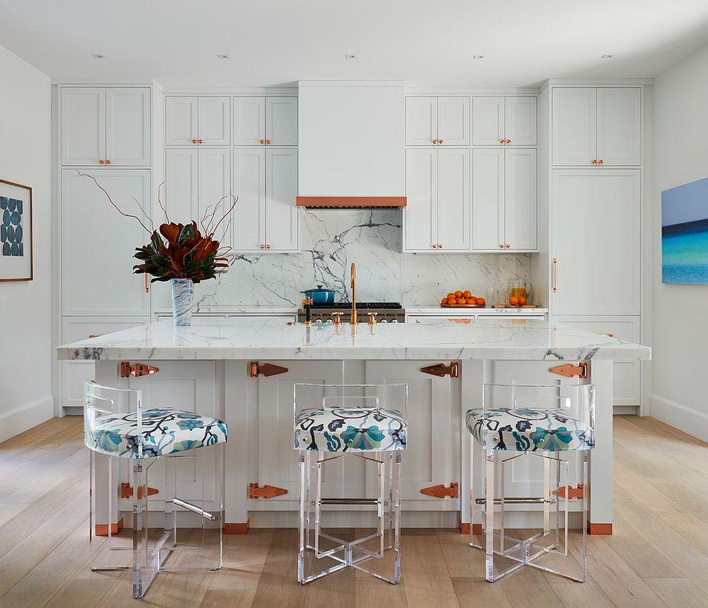 Who says white kitchens are boring!