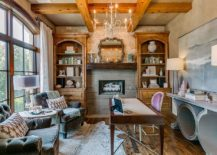 Wooden-ceiling-beams-look-good-even-in-the-small-home-office-217x155