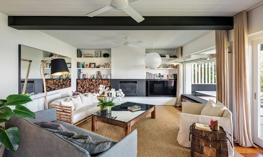 This Modern Beach Style Family Home Offers Fascinating Views of Sydney