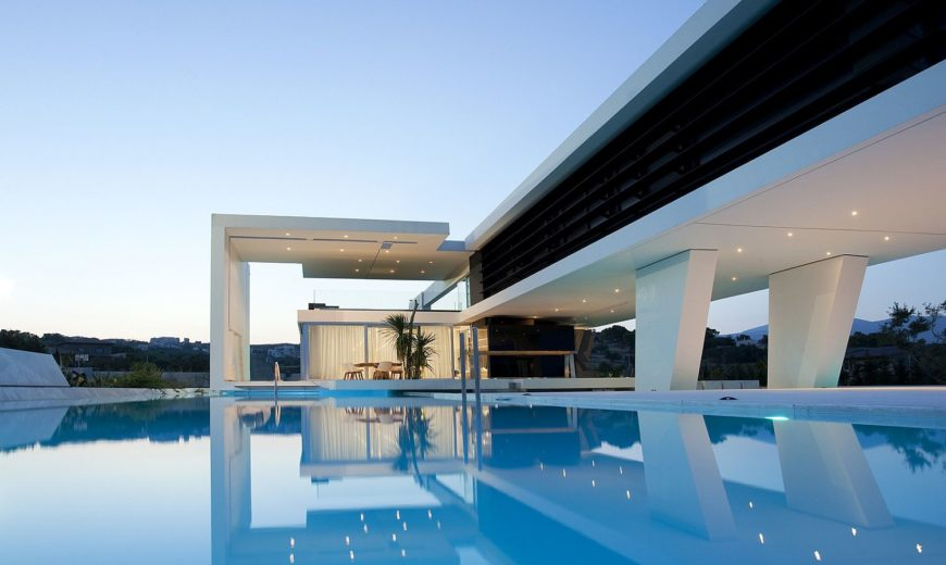 Stunning Contemporary Home Inspired by Yachts: Lavish Life in Greece!